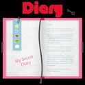 Neco Secret Diary with lock password icon