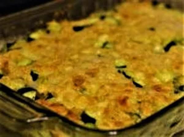 Zucchini Custard Casserole Recipe