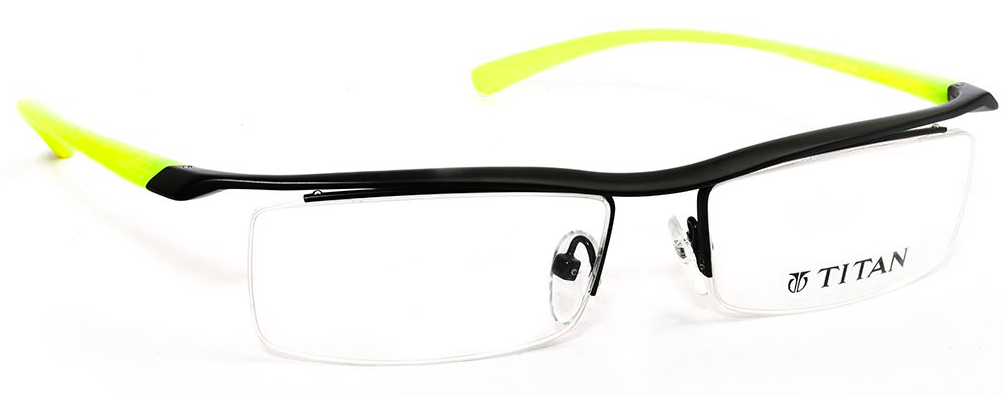 A pair of black and yellow sunglasses  Description automatically generated with low confidence