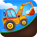 Kids Builder Trucks-Repair,Wash,Fuel Driving Game icon