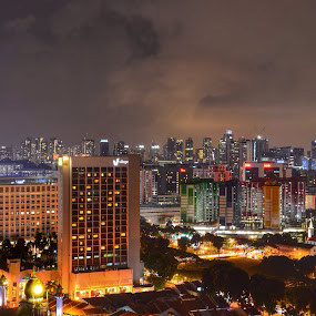 Overview of Arab Street, Singapore by Suriati Yacob - Landscapes Starscapes ( arabstreet, singapore )