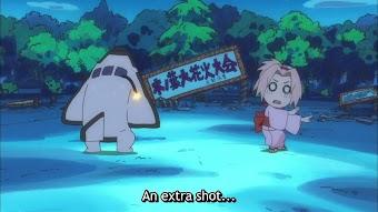 Boom! the Shinobi Fireworks Show! / Bang! Tenten's Acting Weird!