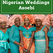 Nigerian Weddings Asoebi