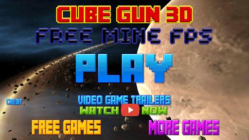 キューブガン3Cube Gun 3d - Free Mine