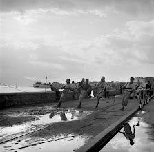 Photo: Trata çeken balıkçılar