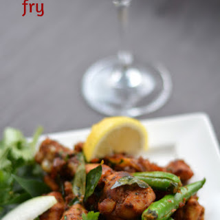 South Indian Spicy Chicken Fry Recipe