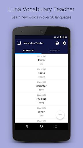 Luna Vocabulary Teacher