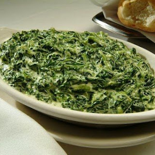 Creamed Spinach in Béchamel Sauce