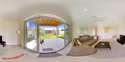 Photo: Beach House 1 - Downstairs Patio/Garden/Rumpus Room www.escapeatnobbys.com.au