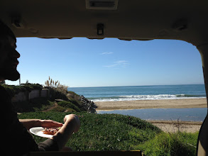 Photo: Day 1 Started with pizza brunch on the beach. It was fantastic weather.