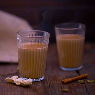 Masala and Ginger Chai.