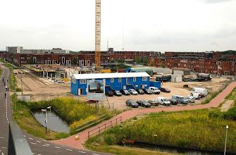 Photo: 2 juli: overzicht van de bouwplaats