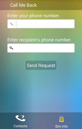 Call Me Back Yêu cầu gọi lại