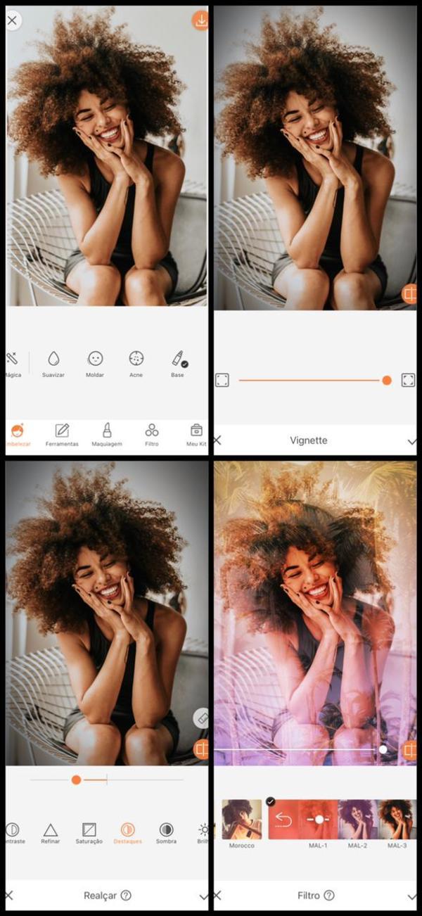 Como fazer fotos com dupla exposição no AirBrush