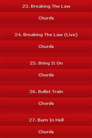 android All Songs of Judas Priest Screenshot 1