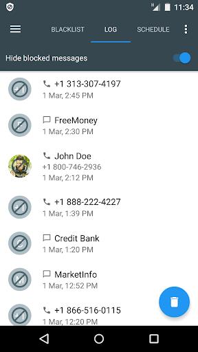 Calls Blacklist PRO - Call Blocker screenshot 4