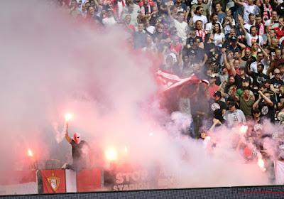 L'Union Belge réagit suite à la banderole polémique de l'Antwerp 'Mort au FC Bruges'