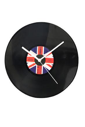 Klocka LP Brittiska flaggan