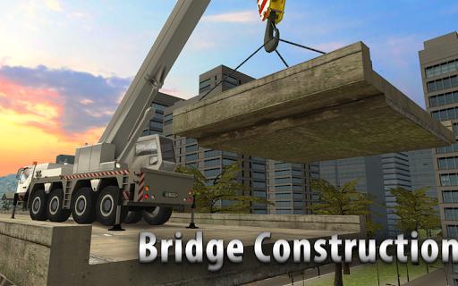 Bridge Construction Crane Sim screenshots 1