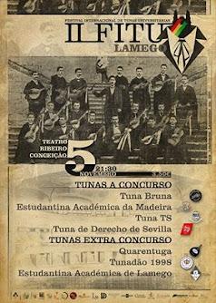 Festival Internacional de Tunas Universitárias - 5 de novembro - Lamego