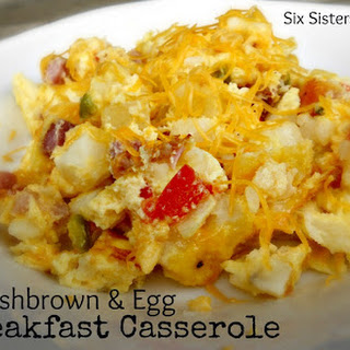 Hashbrown and Egg Breakfast Casserole.
