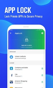 Alibaba Master - Cleaner, Call Recorder & App lock Screenshot