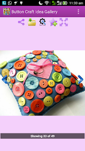 Button Craft Idea Gallery - náhled