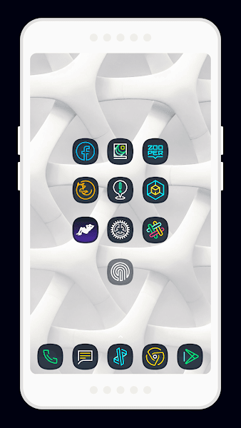 Nightmare Squircle ~ Dark S8/Note8 Icon Pack v2.1.9.i.a.t [Patched]