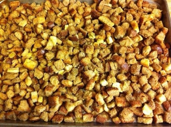 Homemade Croutons Recipe