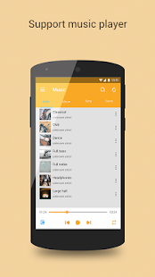 Mplayer Pro for Android Screenshot