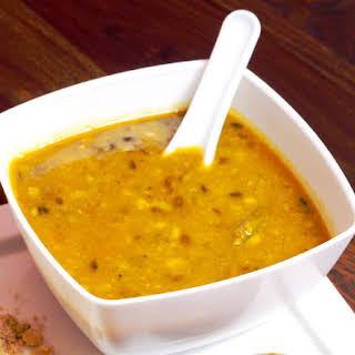 Indian Yellow Split Pea Dal Recipe - Vegetarian/vegan.