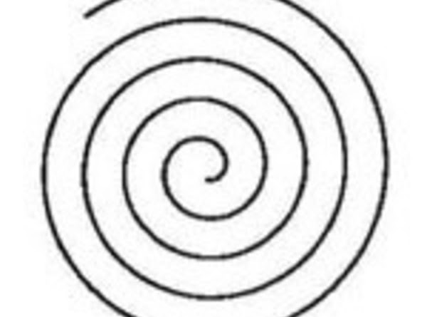 A spiral drawn clockwise brings things to you. It also signifies the journey within,...