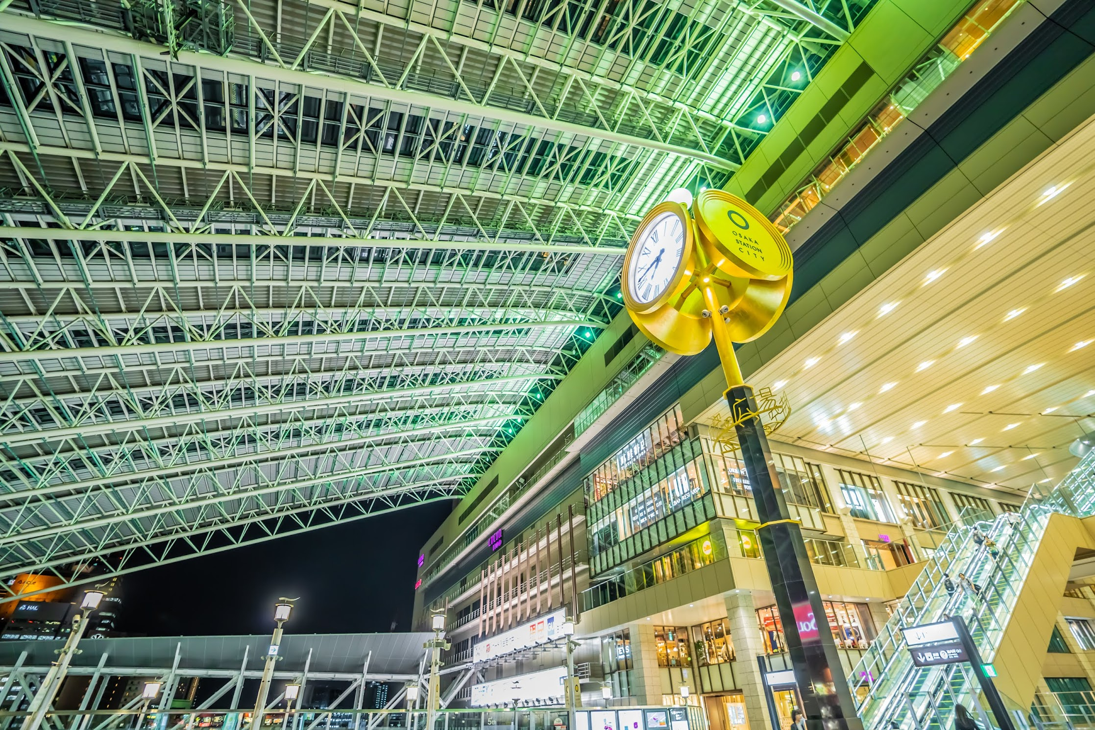 Osaka station Toki-no-hiroba Plaza6