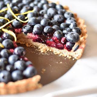 Blueberry Lemon Cream Cheese Tart Recipe