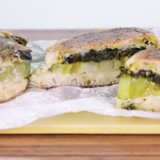 Collard Green Grilled Cheese.