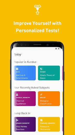Kunduz Doubt app Q&A: JEE main, JEE adv, NEET 2020 3.7.6 Screenshots 3