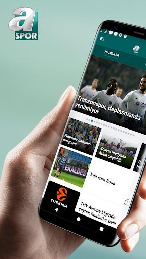 ASPOR-Canlı yayınlar, maç özetleri, spor haberleri 4.91 screenshots 1