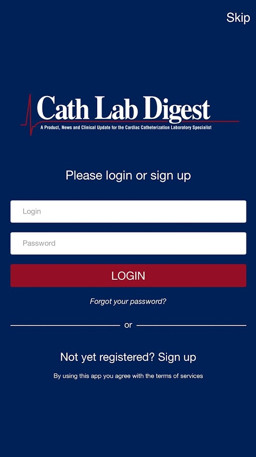 Cath Lab Digest- screenshot