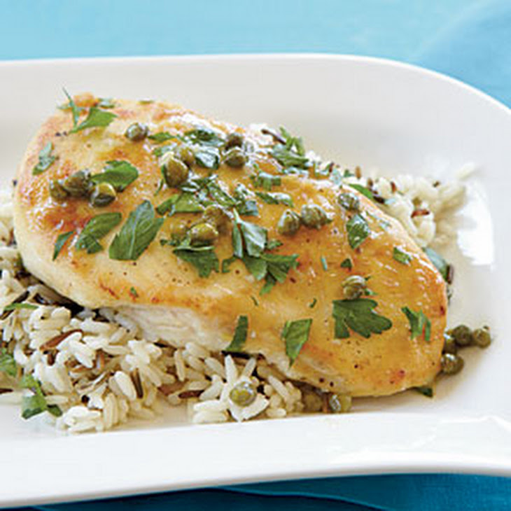 chicken with lemon and capers recipe myrecipes com chicken with lemon ...
