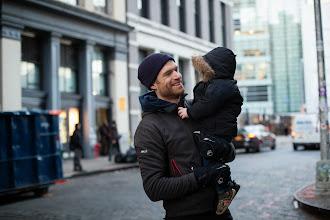 Photo: David & son in NYC (photo by Spyr Media)