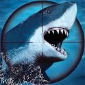 Underwater Shark Hunting- Free Shark Games 2020 icon