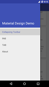 Material Design Demo screenshot 0