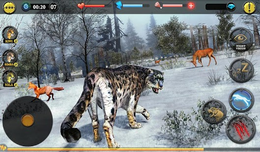 Forest Snow Leopard Sim- screenshot thumbnail