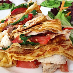 Gluten Free Savory Crepes...