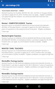 Find Teacher Post- screenshot thumbnail