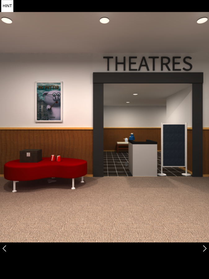 Escape Game - Theater- screenshot