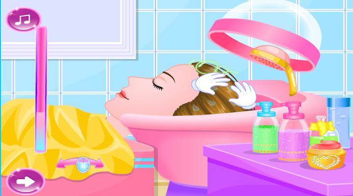 Makeover Princes hairdresser - screenshot