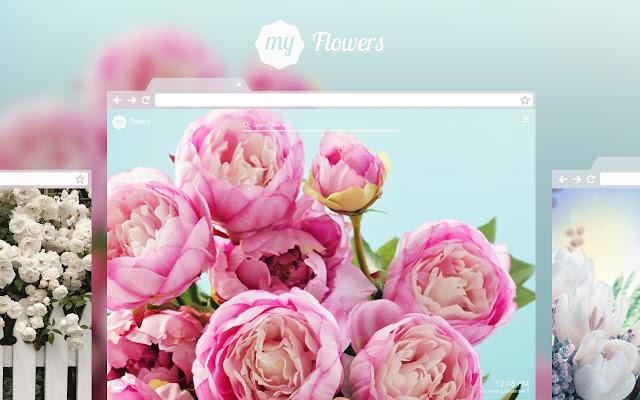 My Flowers Romantic Flower Hd Wallpapers