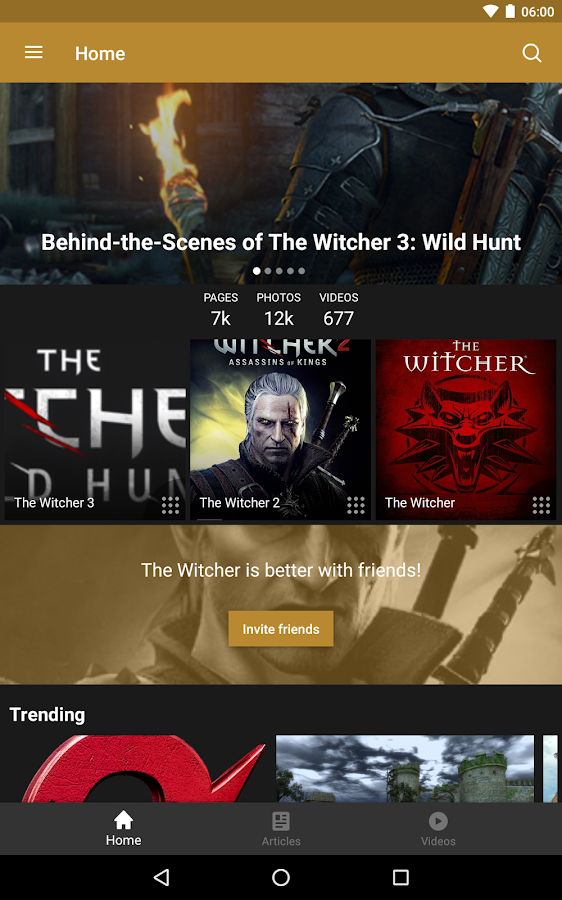 Wikia: The Witcher – Screenshot