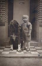 Photo: Bareld Schuiling met hond